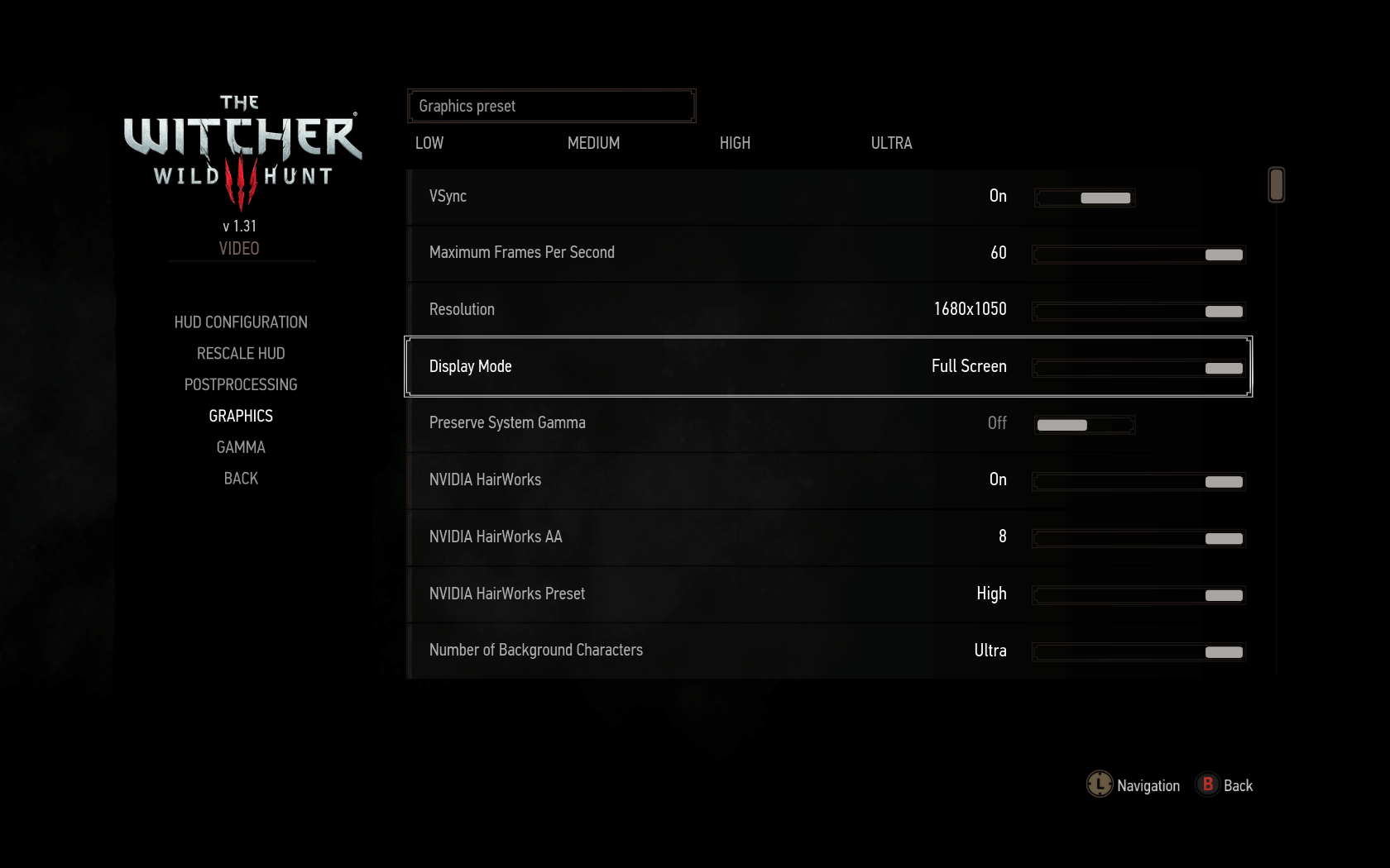 How to fix dark gamma in the Witcher 3?